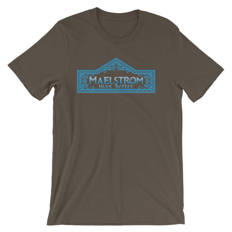 Maelstrom Ride Shirt from Etsy