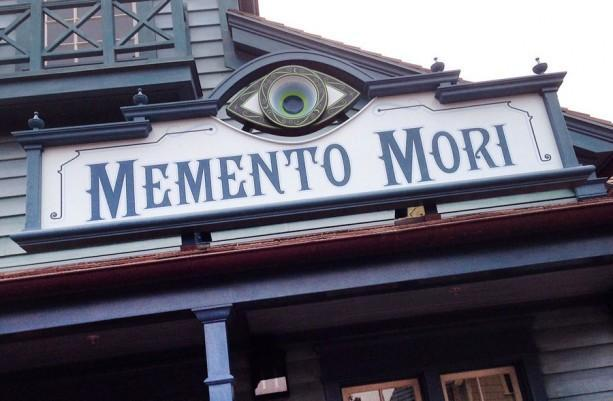 Disney Memento Mori Shop at the Magic Kingdom Mystery Eye
