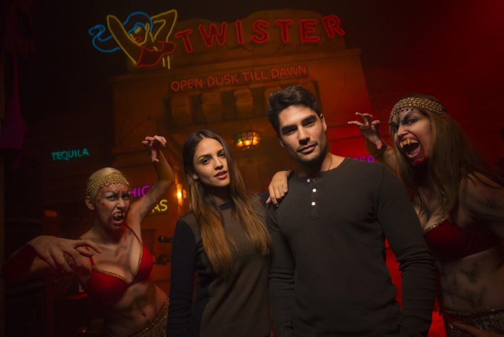 From Dusk Till Dawn Halloween Horror Nights 24 with Women Vampires