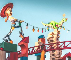 Slinky Dog Dash Ride at Toy Story Land Hollywood Studios
