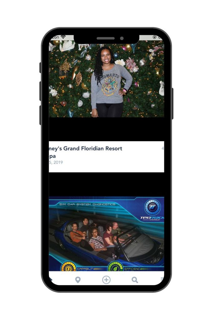 Walt Disney World PhotoPass Photos in the MyDisney Experience App