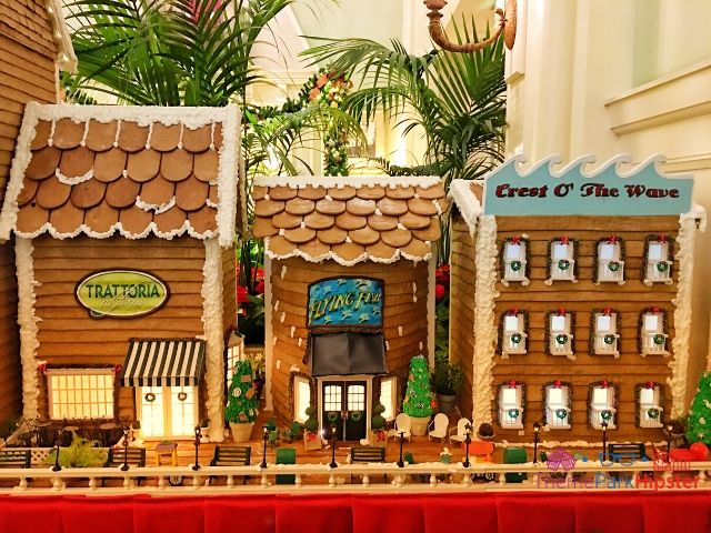 Boardwalk Inn Disney World Gingerbread House Display