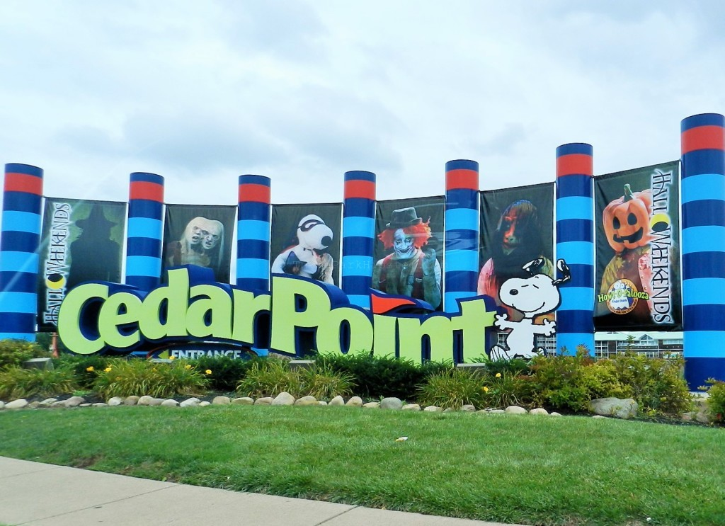 Cedar Point Halloweekends Sandusky, Ohio Entrance