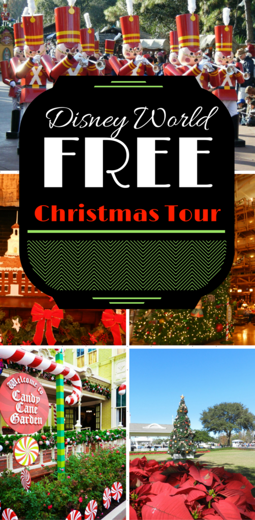 Disney World Free Christmas Tour