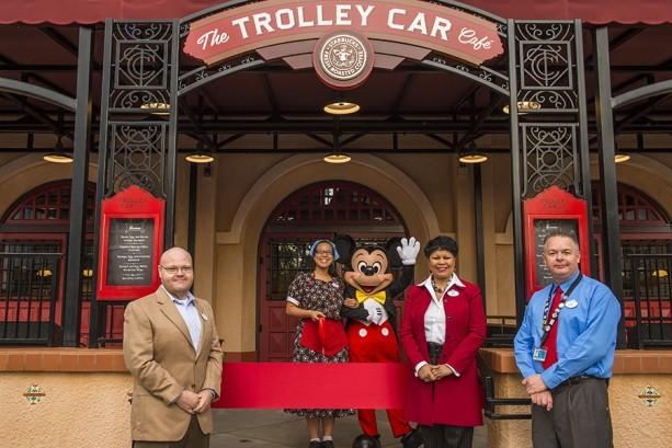 Trolley Car Cafe Photo: Disney Co.