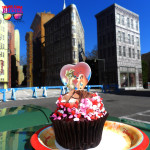 Hollywood Studios Valentine's Day Cupcake