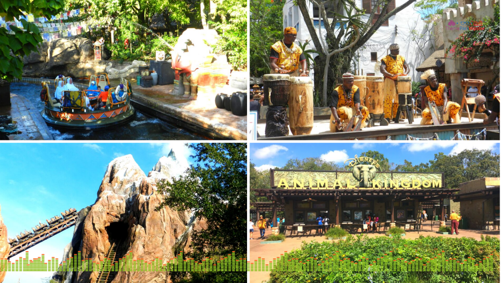 Animal Kingdom Solo Tips Lush Vegetation and attractions at Disney.