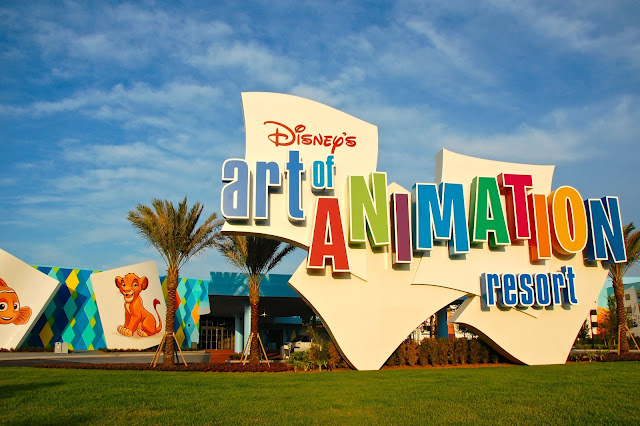 Photo: A Little WDW Magic - Disney's Art of Animation Resort