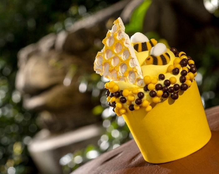 Creature Comfort's Honey Bee Cupcake (Kent Phillips, photographer) for Earth Day at Disney Animal Kingdom
