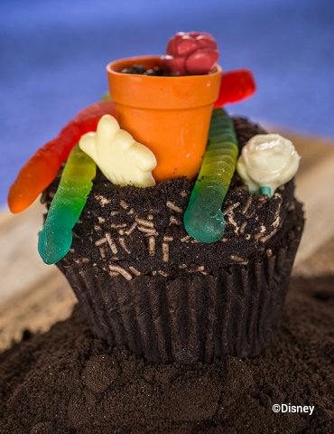 Earth Day Cupcake Walt Disney World