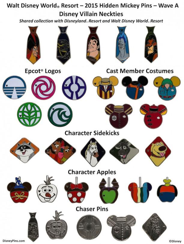 Best Disney Pins Hidden Mickey Pins