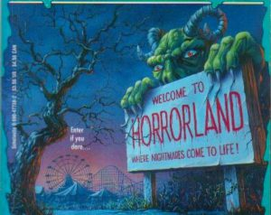 One Day at Horrorland Goosebumps book cover 1994