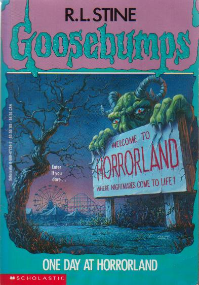 Original One Day at Horrorland Cover Art