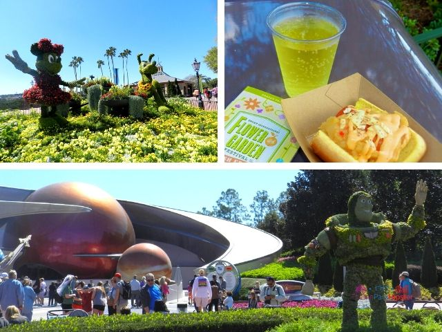 Pineapple Hard Cider Review at Epcot Flower and Garden Festival