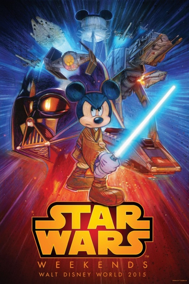 Photo: Disney Co. May the 4th Be with You!