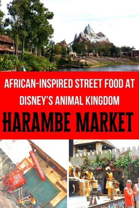Harambe Market at Disney Animal Kingdom