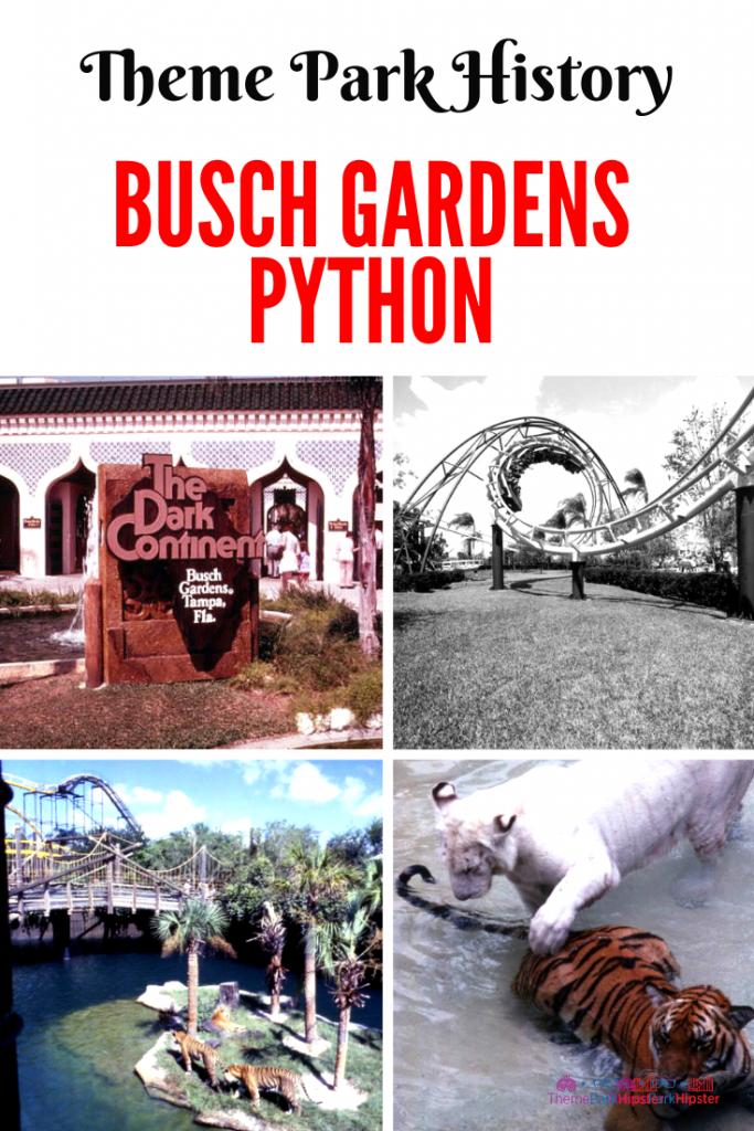 busch gardens python history