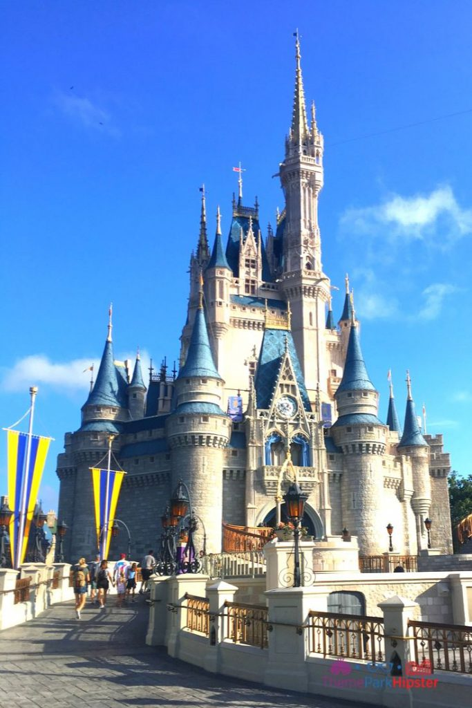 Cinderella Castle Magic Kingdom Clear Day