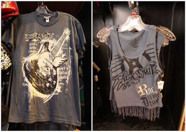 Rock 'n' Rollercoaster Merchandise Photo: Disney Co.