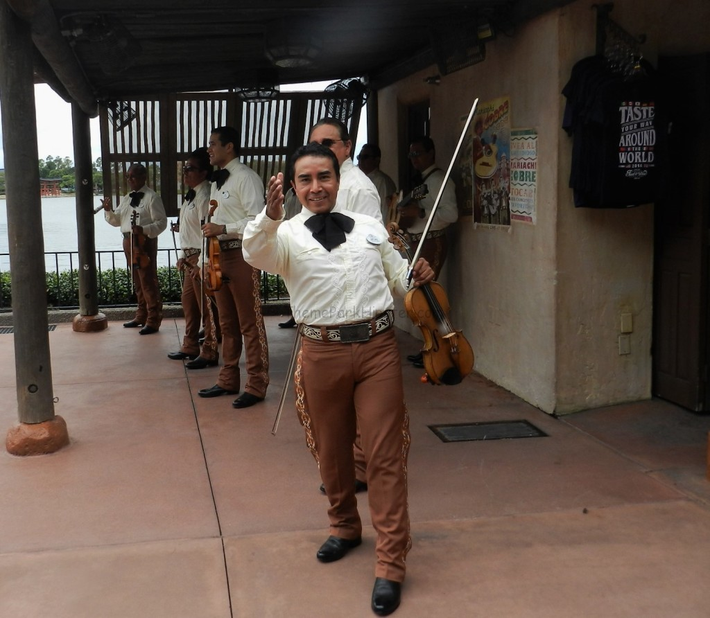 Mexico Mariachi Band in Epcot