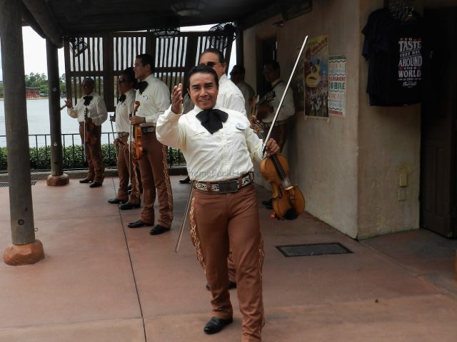 Epcot Food and Wine Festival Festival Show in Mexico Mexico Pavilion Mariachi Cobre at Epcot