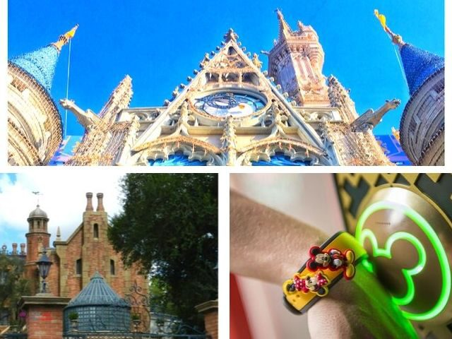 Disney Haunted Mansion MagicBand with creepy Magic Kingdom attraction.