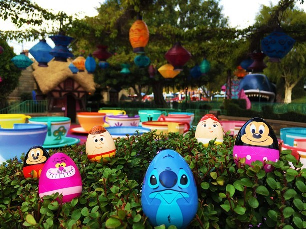 easter egg hunt at disney