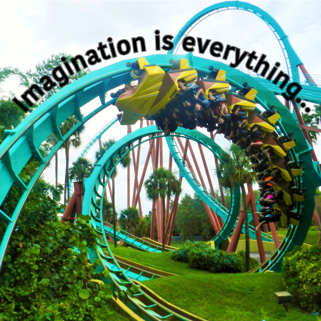 Kumba Busch Gardens Imagination Quotes by Albert Einstein