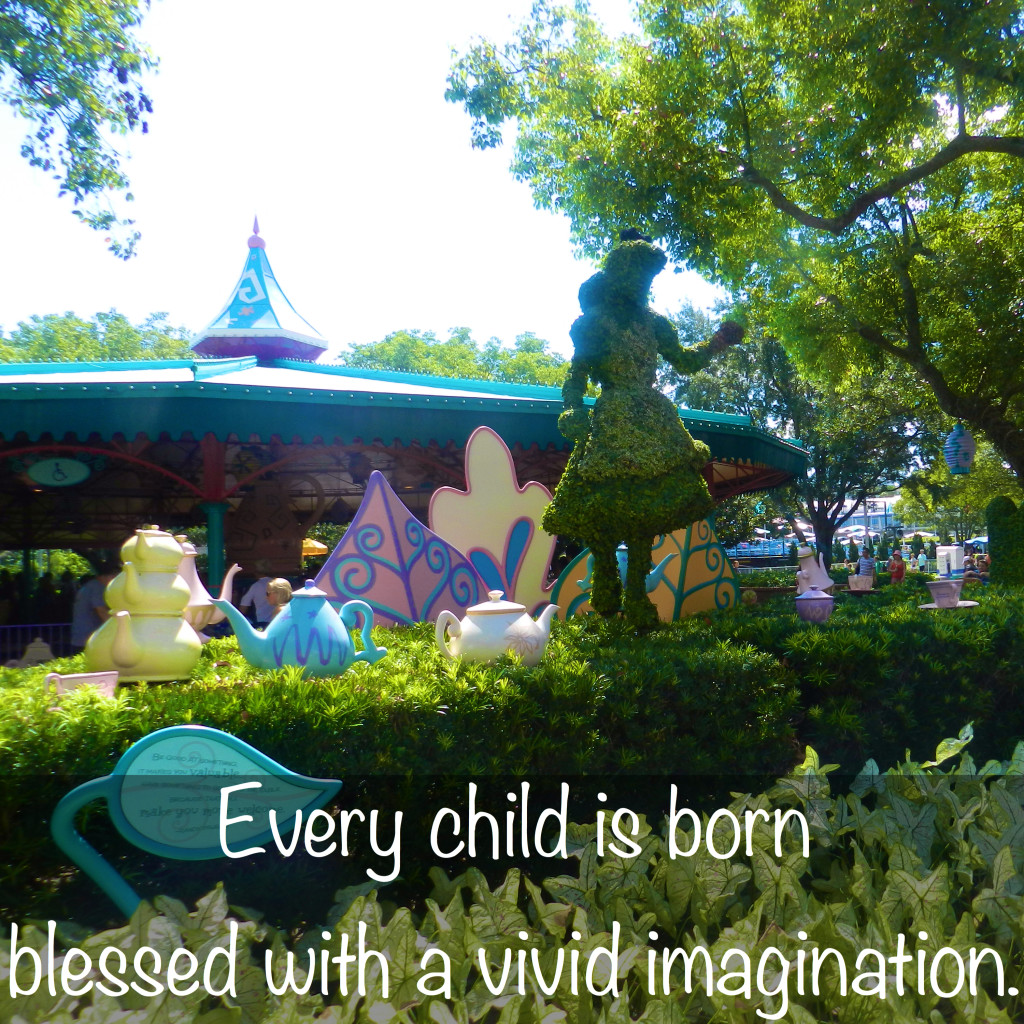 magic kingdom alice in wonderland disney on imagination Disney Magic Kingdom for Adults Imagination Quotes Walt Disney