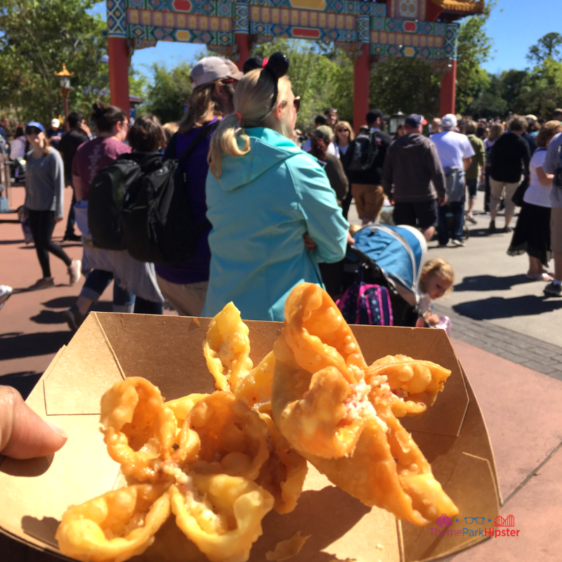 Epcot International Flower and Garden Festival China Wontons