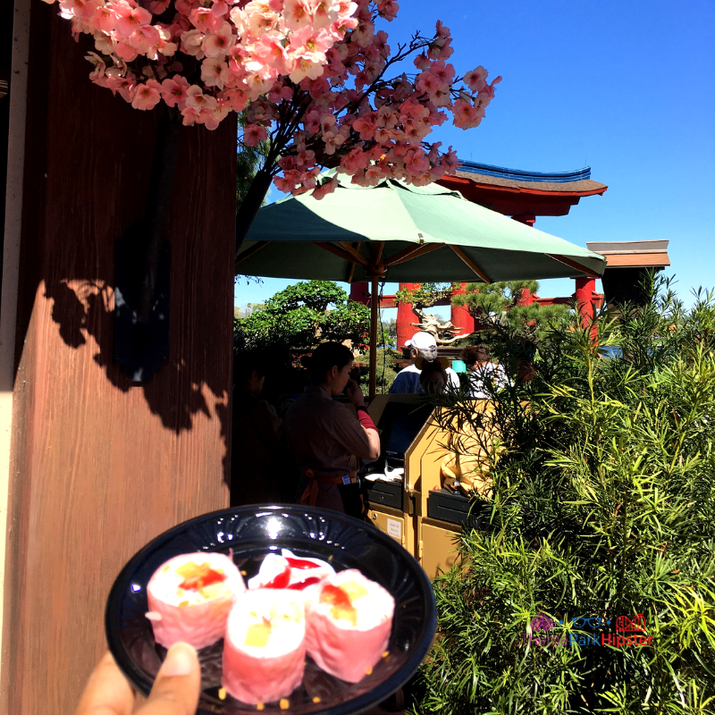 Epcot International Flower and Garden Festival Japan Frushi
