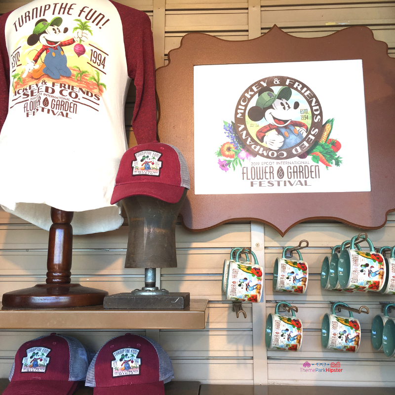 Epcot International Flower and Garden Festival Merchandise
