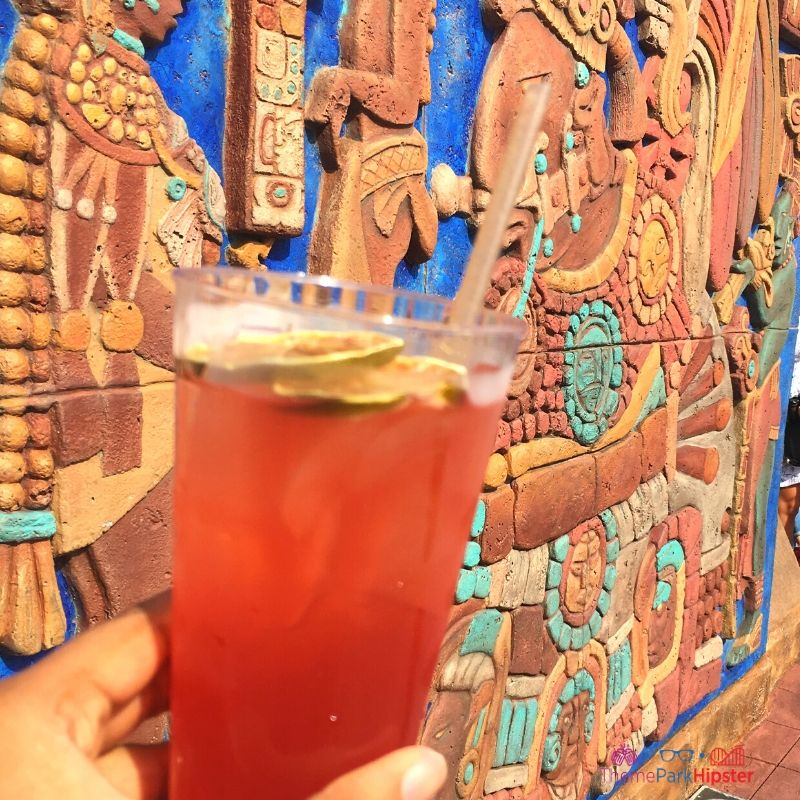 The Best Sangria at Epcot. Epcot Mexico Sangria