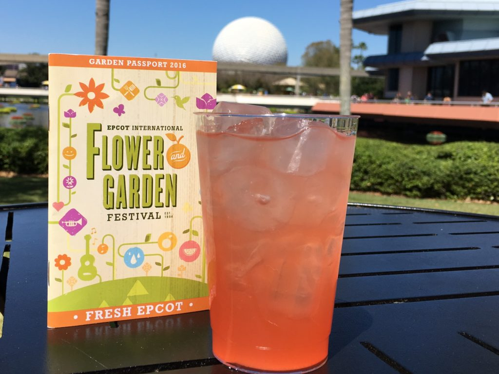 Elderflower Sangria at Epcot Garden Festival
