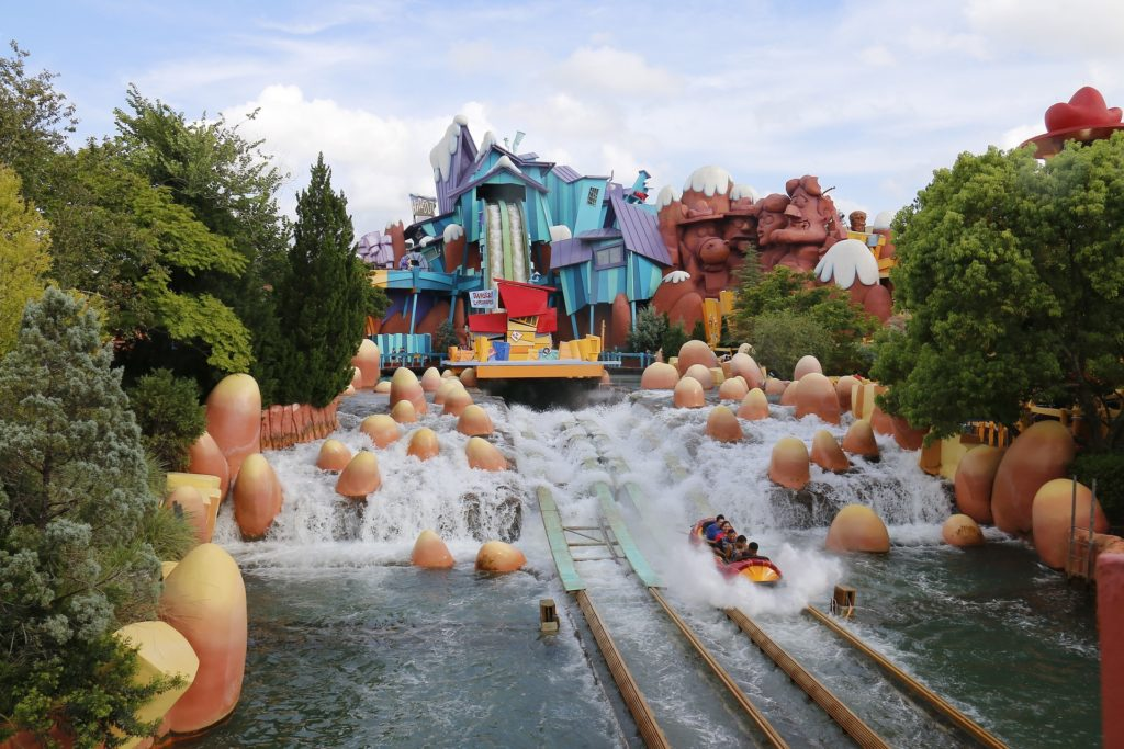 islands of adventure water ride flume Universal Orlando Resort