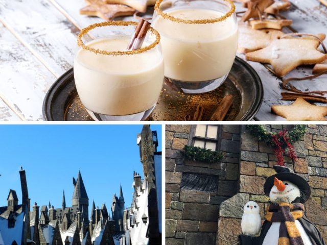 Cinnamon Toast Crunch Drink with RumChata and Fireball Whisky at Hogshead in Harry Potter World