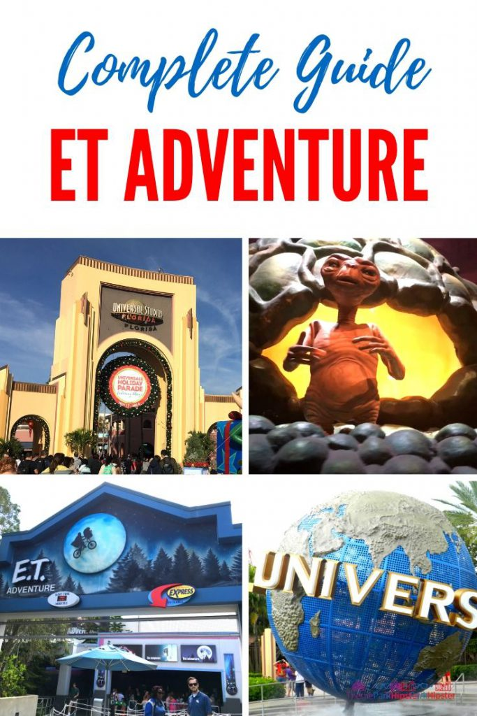 ET Adventure Universal Studios Guide