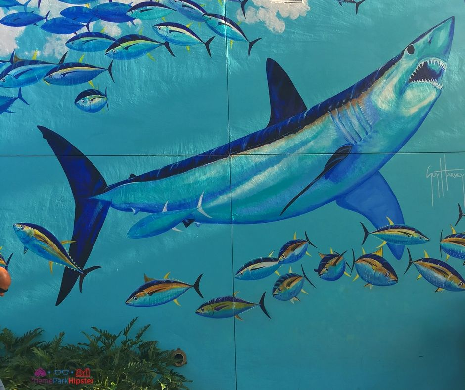 Mako SeaWorld Orlando Guy Harvey Mural