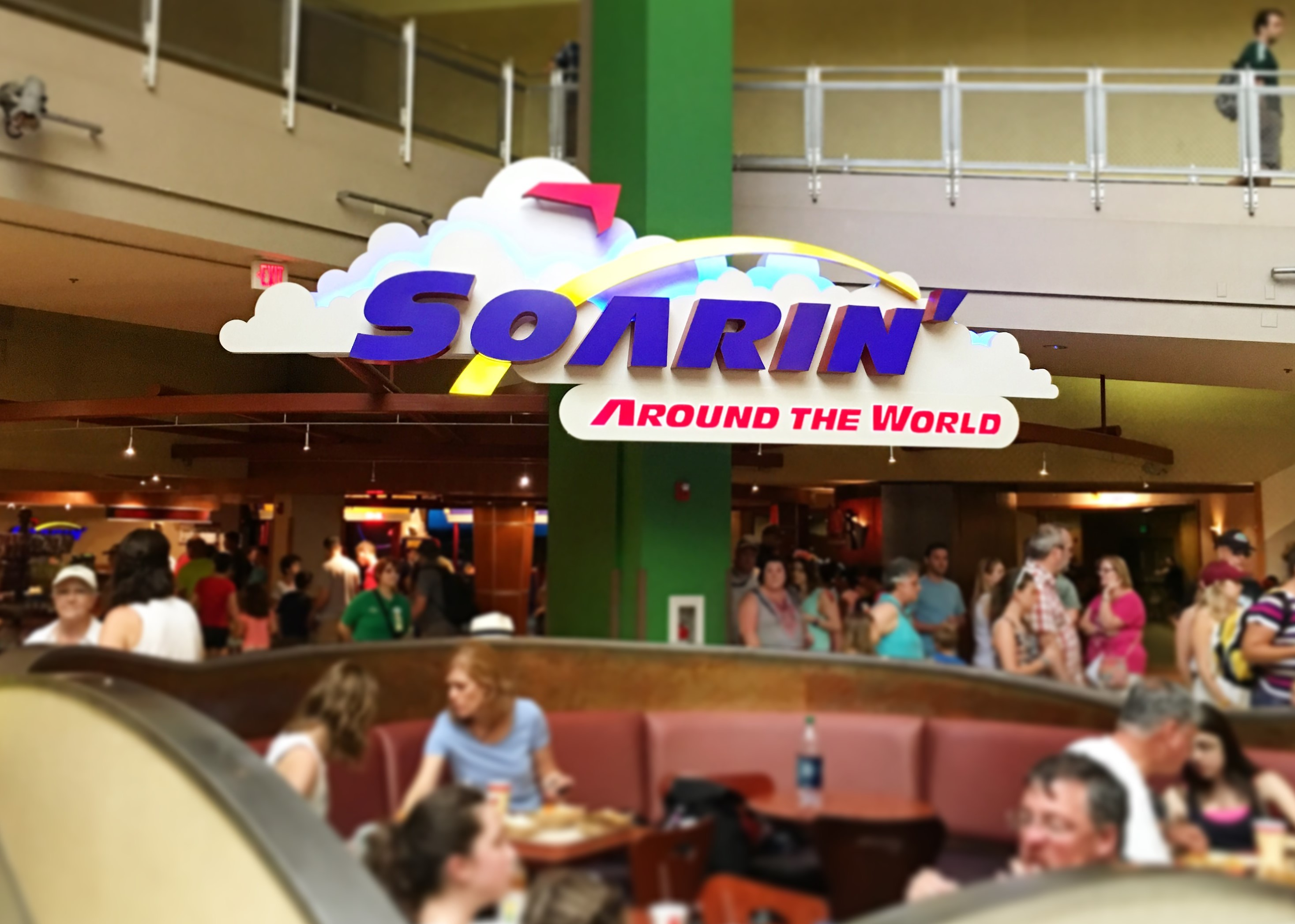 soarin around the world Best Fastpasses for Epcot