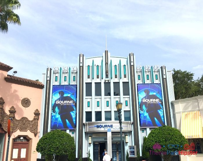 Bourne Stuntacular Entrance at Universal Studios Florida