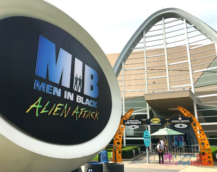 Men in Black Alien Attack front entrance at Universal Studios Florida