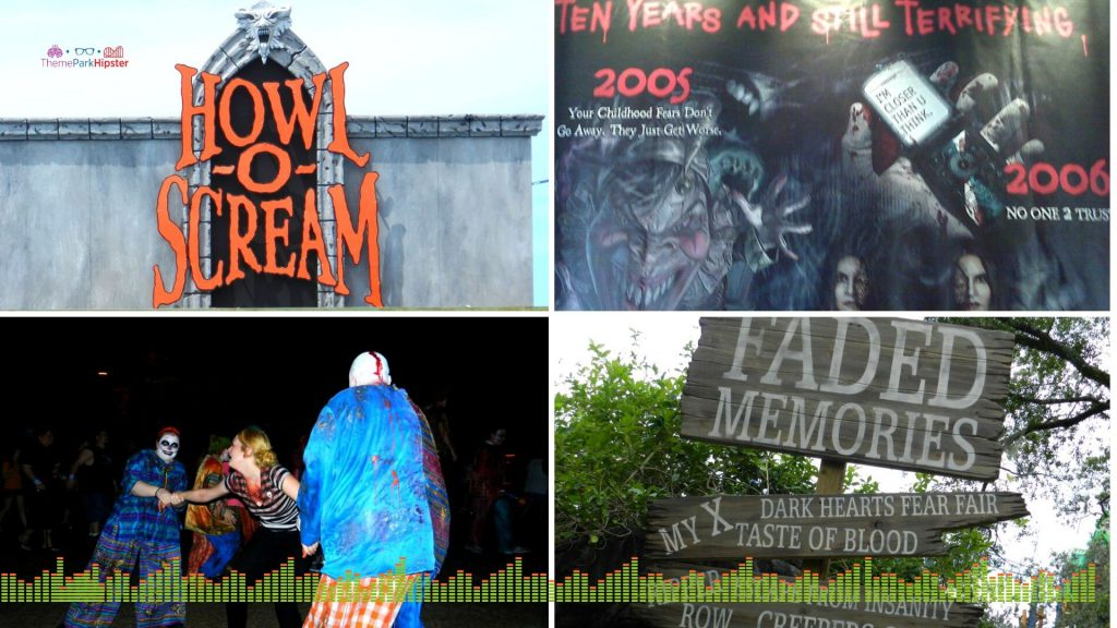 Busch Gardens Tampa Howl O Scream Tickets and Tips with haunted houses.