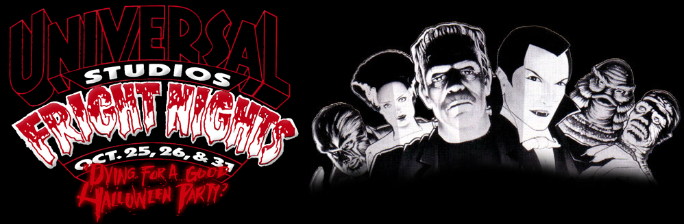 HHN 1 Universal 1991 Fright Nights
