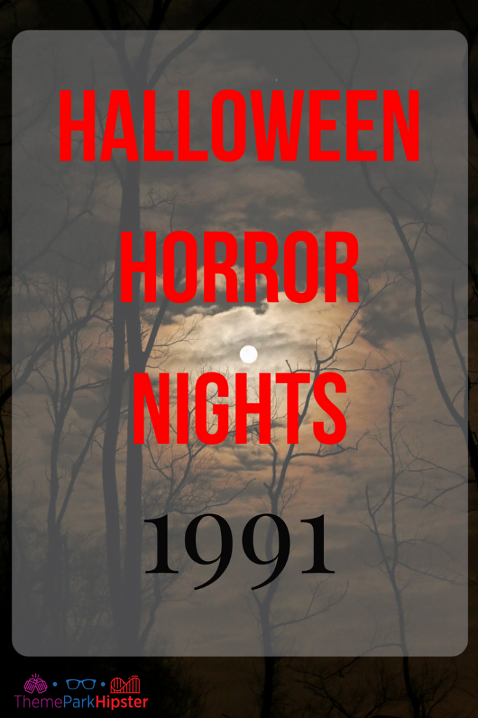 halloween horror nights 1991