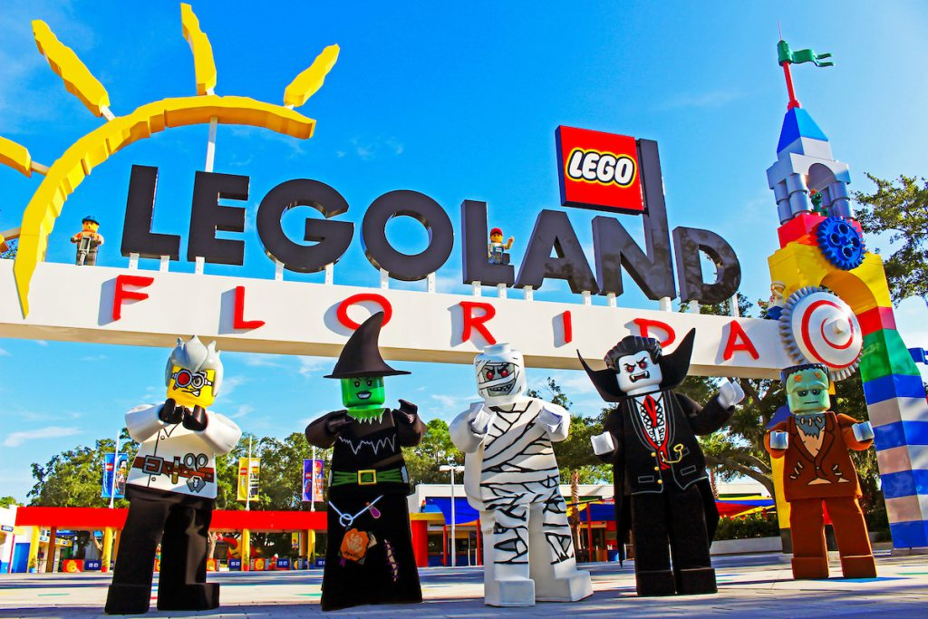 Halloween at LEGOLAND Florida Brick or Treat with Frankenstein and the Mummy