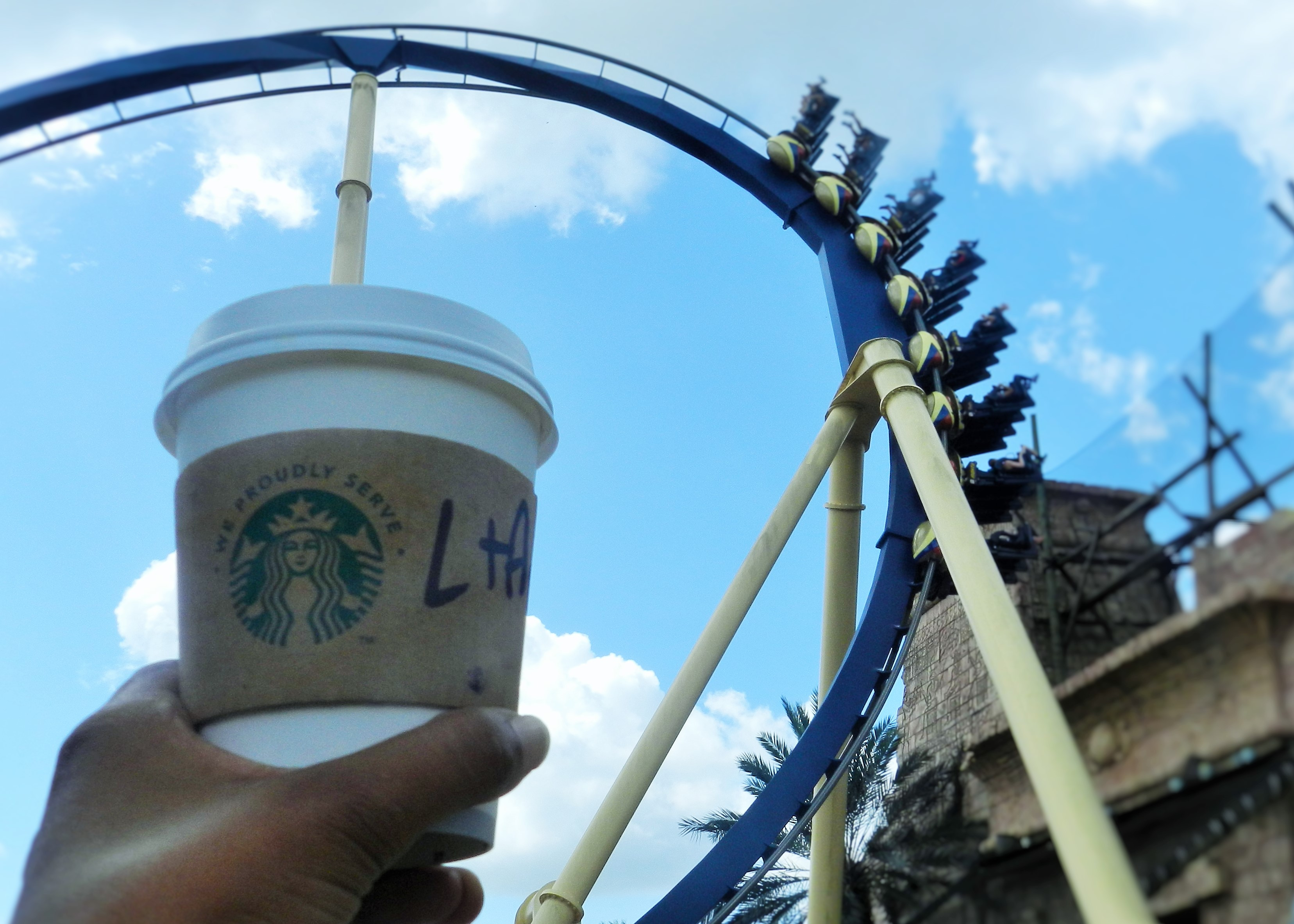 Coasters and Coffee Busch Gardens Montu Roller Coaster