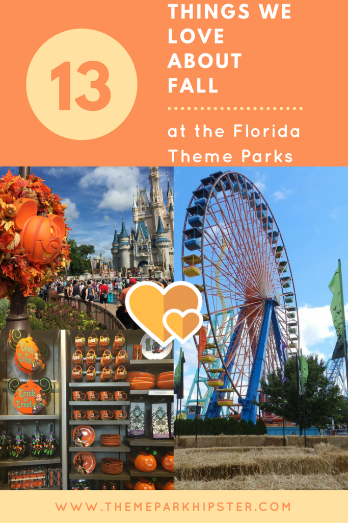 Things to do in the Fall at Florida Theme Parks