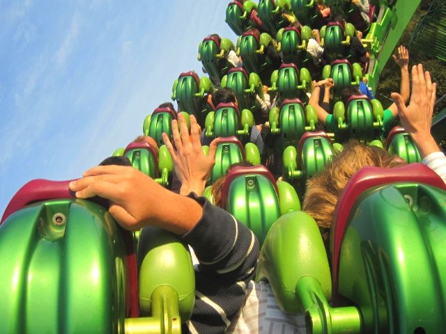 HULK Roller Coaster Universal Islands of Adventure