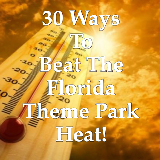 Beat the Florida heat at disney world with the thermometer getting hot.