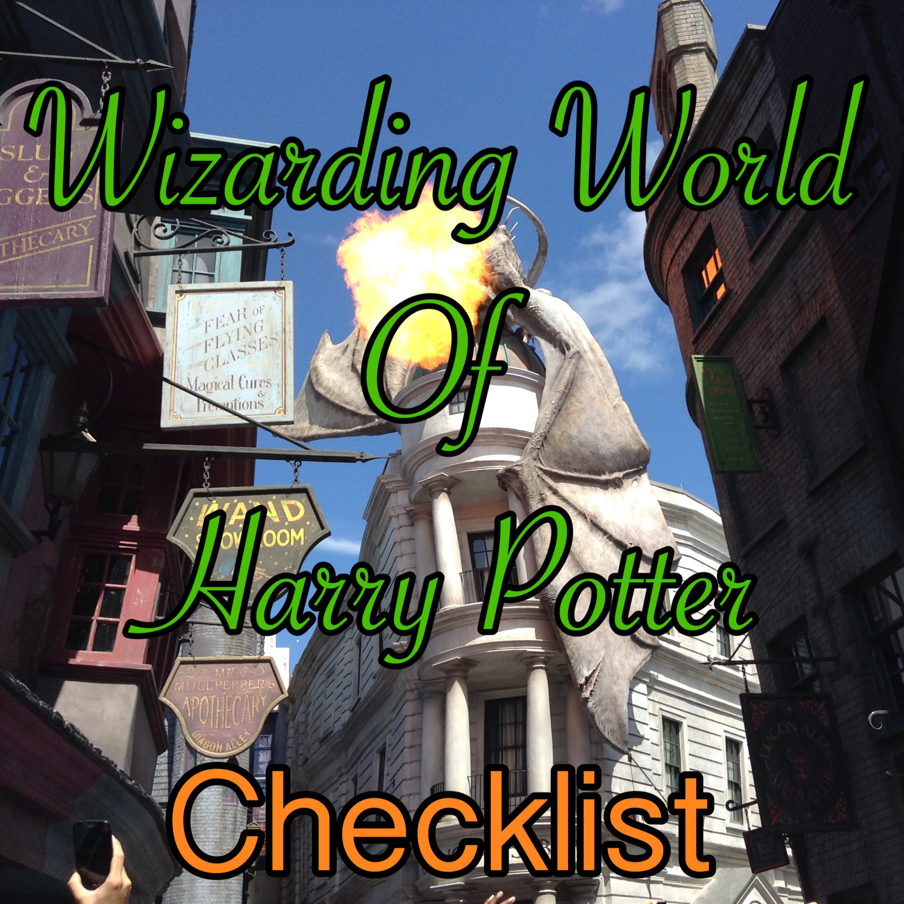 Wizarding World of Harry Potter Checklist